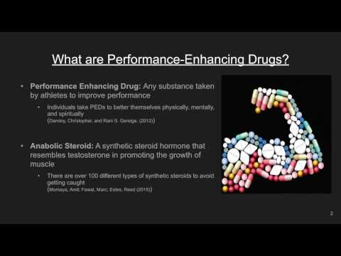 P.S.A. - Performance Enhancing Drugs