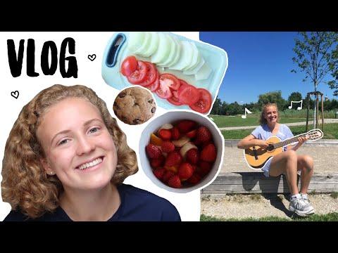 Singen vegane Cookies Sport 8000 Abos : Alltags-Vlog ♥︎ Leonie4ever