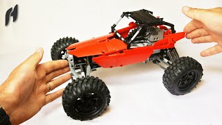 How to Build the Lego Technic Buggy