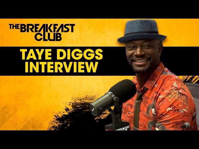 Taye Diggs On New Role In \'All American\', Provocative Posts On Instagram, Classic Film Roles + More
