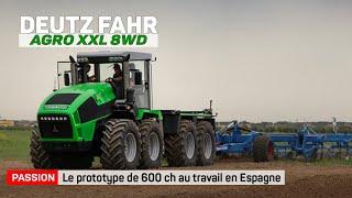 DEUTZ FAHR Agro XXL 1630 Tractor / 8WD - 600 hp