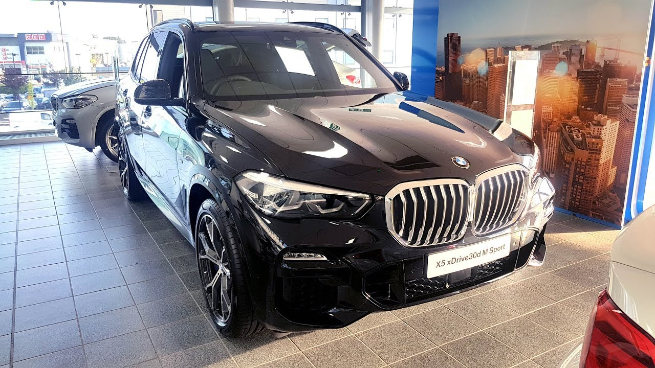 All New 19 20 Black Sapphire Bmw X5 Xdrive30d M Sport Whichcar Interior Exterior Review 59k Youtube