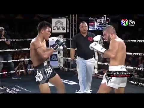 P T T Petchrungrueng VS Gokhan Boran -  KHMER Thai fight  25  Nov 2017 x264 001