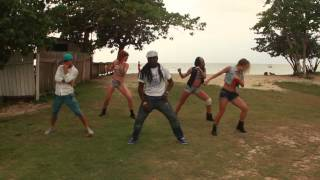 "Jamaica: russians with Orville Xpressionz dancing to Assassin ""dem nah look nuh gal"""
