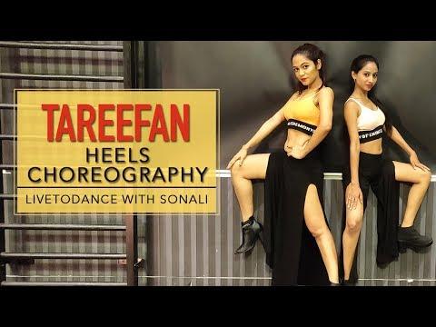 Tareefan | Heels Choreography | Veere Di Wedding | LiveToDance with Sonali