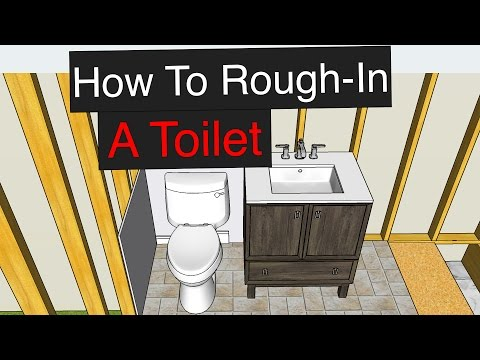 How To Rough-In a Toilet (with Dimensions)