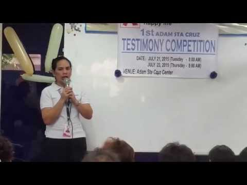 Pepito Doma Testimony