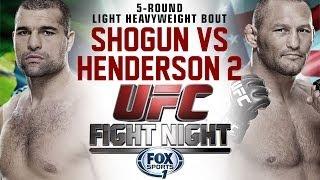 UFC Fight Night 39: Shogun vs. Henderson 2 promo