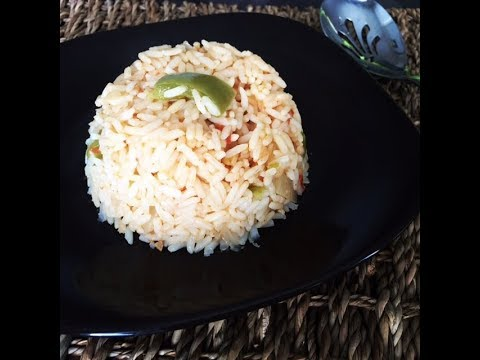 Easy Spanish Rice Recipe | One Pot Rice Dish - Side Dish Ideas