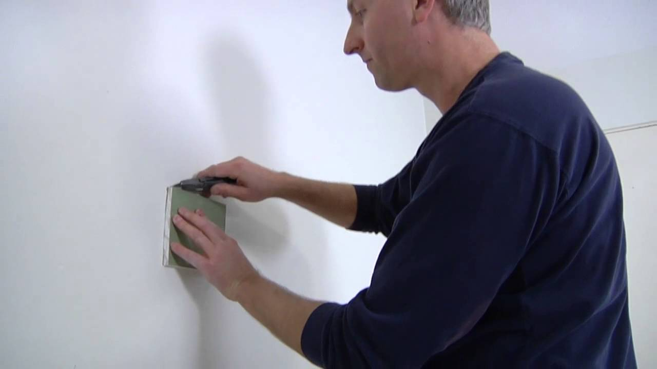 how to fix a hole in drywall without a patch