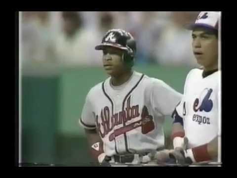 7/19/87 Braves at Expos