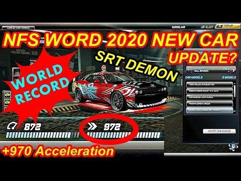 NFS World 2020 Dodge Challenger SRT DEMON Gameplay