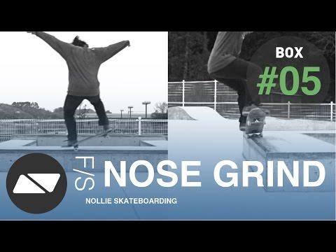 FRONTSIDE NOSE GRIND [SKATEBOARDING BOX TUTORIAL #5.0]