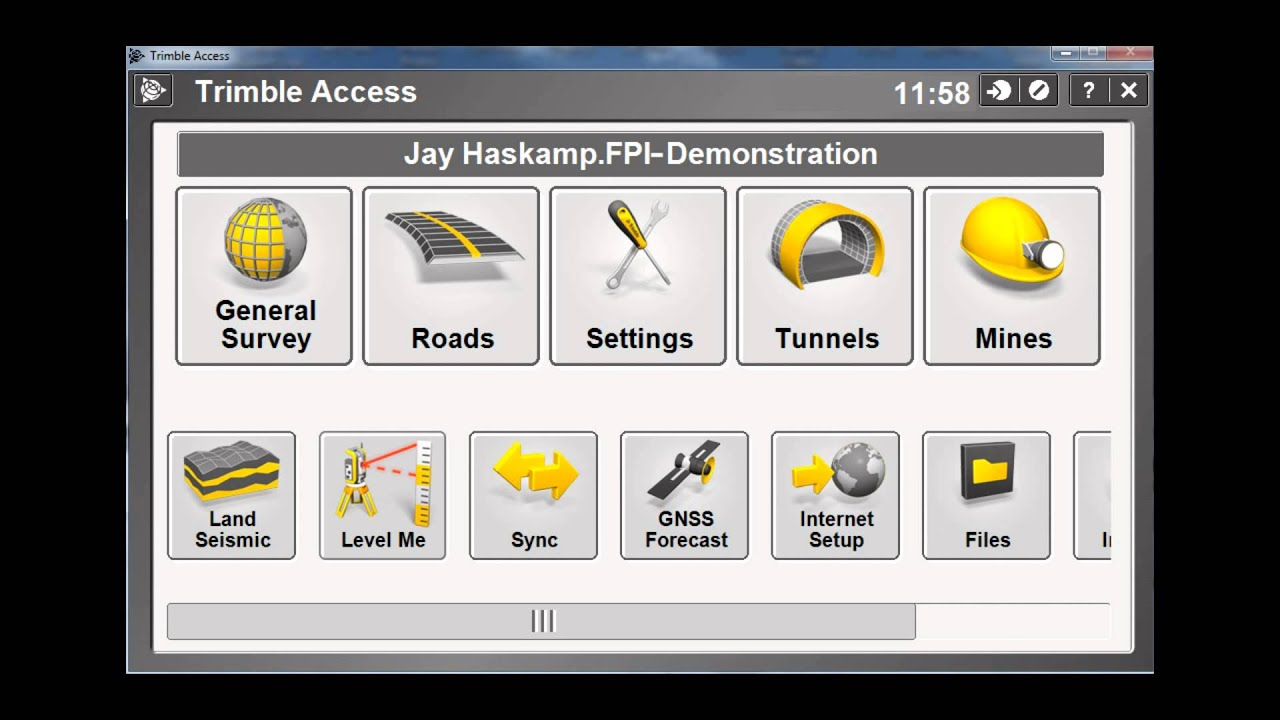 Checking Your Trimble Access License and Version