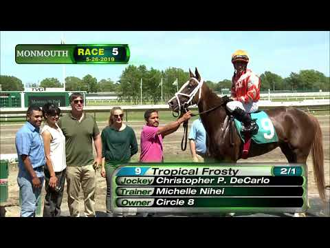 video thumbnail for MONMOUTH PARK 5-26-19 RACE 5