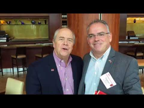 Joe Williams, co-founder of Keller Williams Realty with Stephan Meyer, The Meyer Global Group, co-f