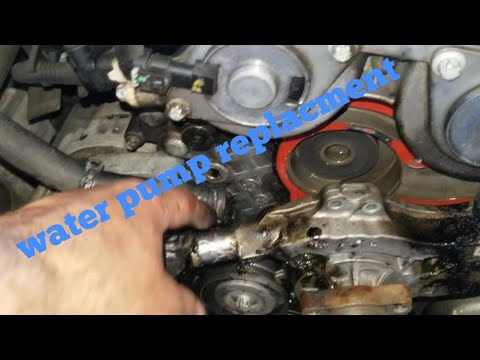 How To  Replace The Water Pump  On A 2014 Chevy Cruze
