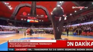 Galatasaray Odeabank Euroleague Sampiyonu Oldu  Kupa Toreni