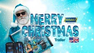 HAZET tool Santa Tools Advent Calendar 2019 - Trailer (EN)