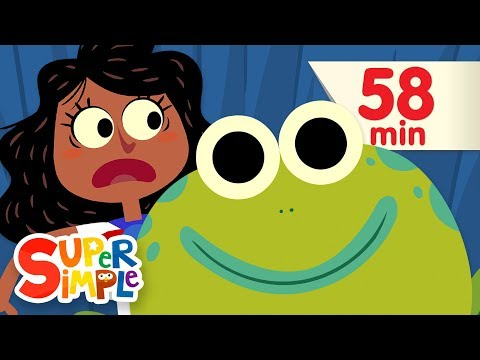 Theres A Hole In The Bottom Of The Sea | + More Kids Songs | Super Simple Songs