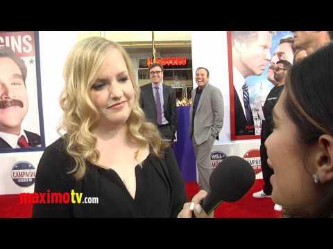"Sarah Baker Interview ""The Campaign"" Los Angeles Premiere Arrivals"