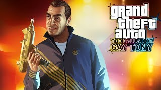 #2. GRAND THEFT AUTO IV: BALLAD OF GAY TONNY. ПРОХОЖДЕНИЕ ОТ ALEX FLASH