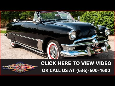 1950 Ford Custom Convertible    For Sale