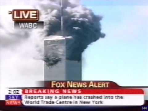 Sky News - September 11th 2001.