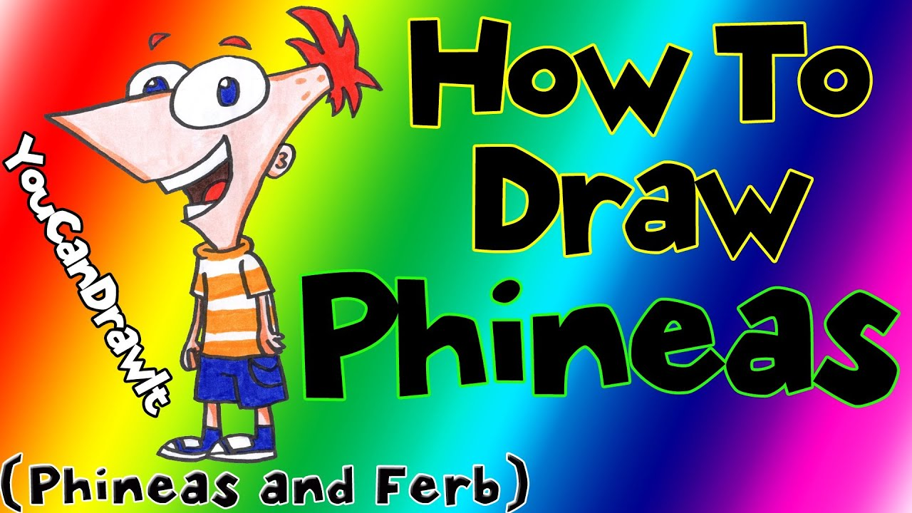 how to draw phineas and ferb& 39