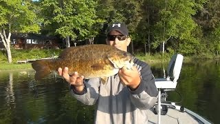 Using Tubes for Smallmouth Bass Fishing