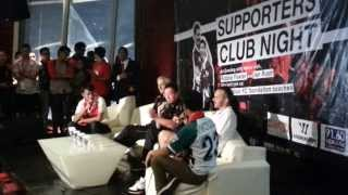 Liverpool Fc At Jakarta 2013 - Supporters Club Night (funny Interview With Robbie Fowler)