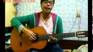 Hướng dẫn tự tập guitar đệm hát cơ bản bài 1 1