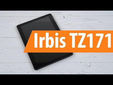 Распаковка Irbis TZ171 / Unboxing Irbis TZ171