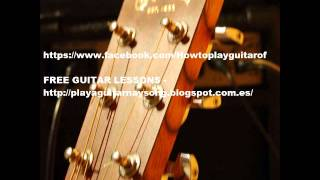 Guitar backing track Wicked garden