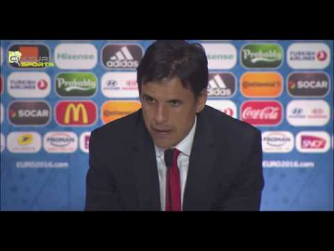 Portugal vs Wales 2-0 Chris Coleman Post Match Interview / Euro 2016 France
