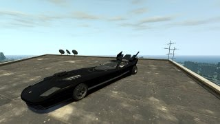 Grand Theft Auto IV - Infernus Batmobile (MOD) HD