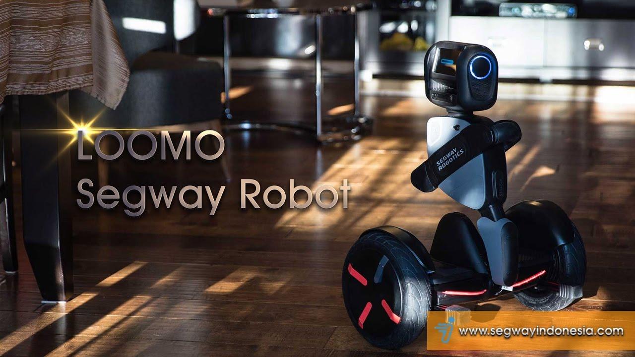 Loomo Segway Robot - Segway Indonesia - YouTube