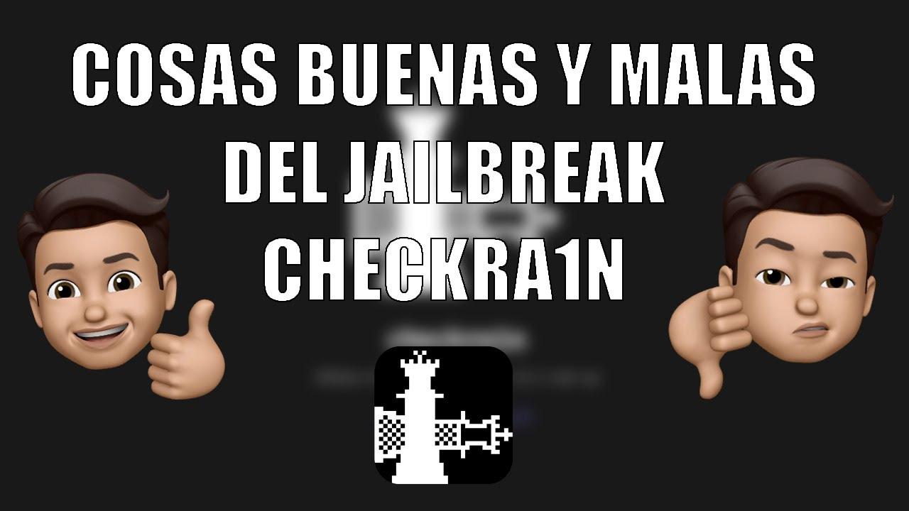 Cosas Buenas Y Malas Del Jailbreak Checkra1n Youtube