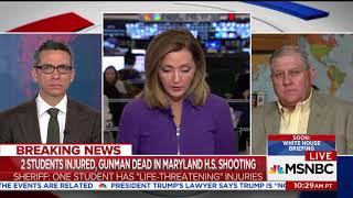 MSNBC fixates on Maryland school shooter having handgun instead of semiautomatic thumbnail