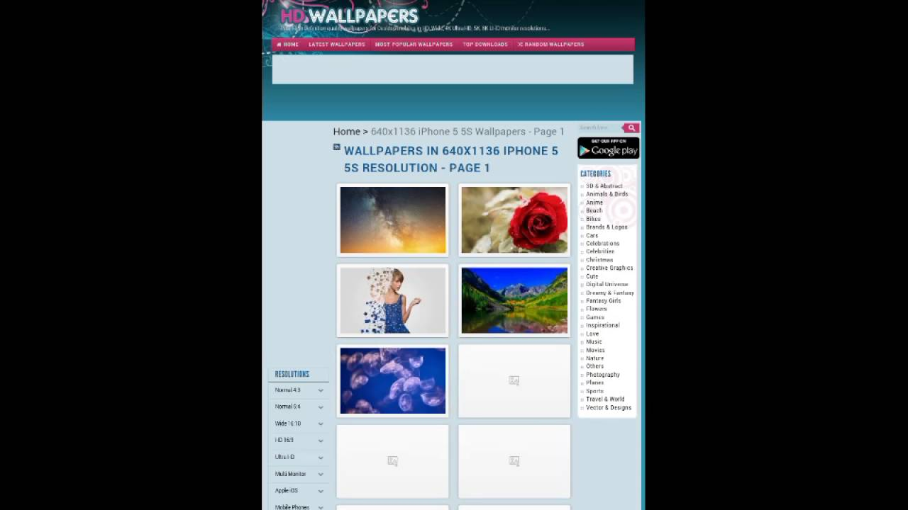 How To Download Hd Wallpaper In Mobile