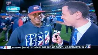 Final play and USA Reaction to 2017 World Baseball Classic Championship- HD Video