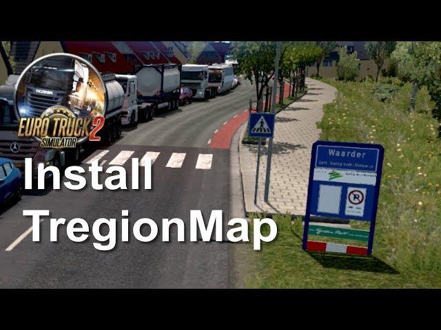 Euro Truck Simulator 2: tregion 0.1 hoe installeer je die (Dutch)
