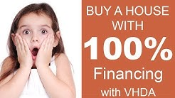 How to buy a home with 100% Financing with VHDA - Virginia - English