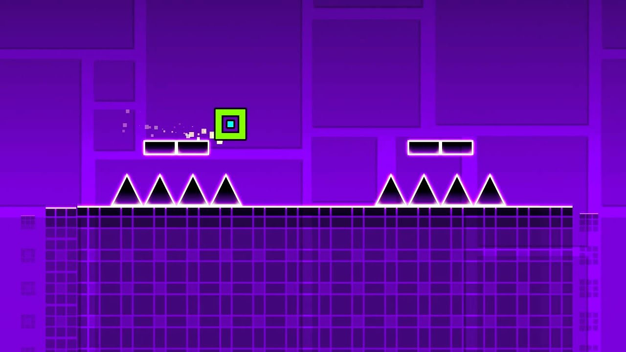 jugando stereo madness con cancion de my heart ll geometry dash en  jugando stereo madness con cancion de my heart ll geometry dash en espanol ll