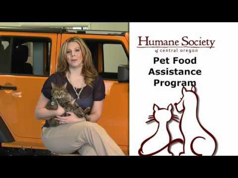 Humane Society of Central Oregon's Pet Food Assistance Program