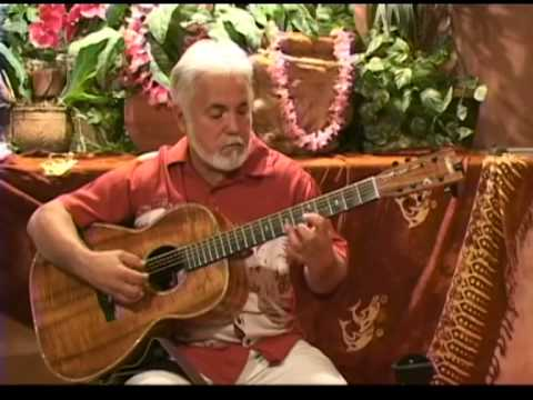 John Keawe Sample Video Lesson teaching Hawaiian Slack Key Guitar