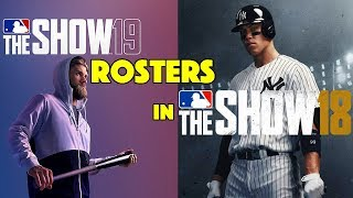 How to GET MLB 19 The Show Rosters in MLB 18 The Show!