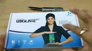 Datawind UBISLATE 3G7 Unboxing
