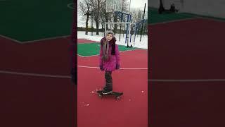 Скейтборд COUGAR/ Уроки видео/ Подарок на день рождения! Как кататься на скейтборде
