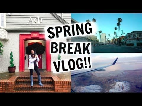 SPRING BREAK VLOG // Los Angeles, Oregon, and more!